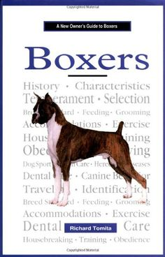 guide to owning a boxer by patti rutledge boxer dogs ebay rh pinterest com English Boxer Dog English Boxer Dog