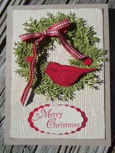 merry christmas - language of friendship - stampin up - splitcoaststampers