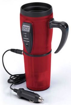 Ever have your coffee go cold even in an insulated cup? This travel mug will reheat it for you!