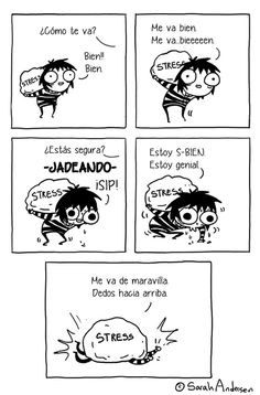Post with 5589 votes and 93862 views. Tagged with Funny, ; Sarah Anderson Everybody! Sarah Anderson Comics, Sara Anderson, Cute Comics, Funny Comics, Comedy Comics, Saras Scribbles, Sarah See Andersen, Rage Comic, 4 Panel Life