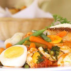 Zöldséges tojáspörkölt Recept képpel - Mindmegette.hu - Receptek