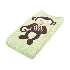 Summer Infant Plush Pals Changing Pad Cover, Monkey found on Polyvore featuring baby