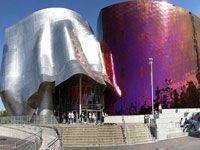 Seattle - Experience Music Project and Science Fiction Museum