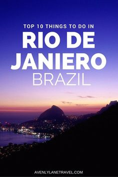 10 reasons why Rio de Janeiro is the greatest city on earth! Click through to read the full post!