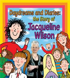 Jacqueline Wilson exhibition, Hove Museum till 30 April Jacqueline Wilson, Brighton And Hove, Book Tv, Great Books, Daydream, Growing Up, Family Guy, Author, Comics