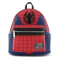 Spider-Man Suit Mini-Backpack - Entertainment Earth 2936307423f73