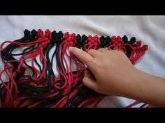 Macrame for Wallet (part 2) - YouTube