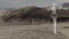 Pylon Figures,  Iceland