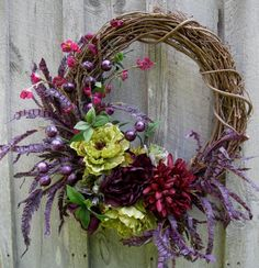 jewel toned flower desktop | Download image Jewel Tone Fall Wreath PC, Android, iPhone and iPad ...