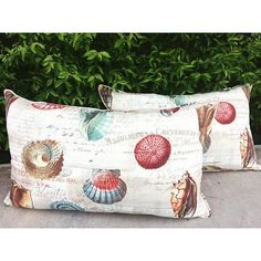 Walfab's custom pillows are perfect accent to bring any room together! Look how lovely our Volute Multi looks 😍❤️😍 Tropical Fabric, Outdoor Fabric, Custom Pillows, Straw Bag, Reusable Tote Bags, Cushions, Photo And Video, Room, Instagram