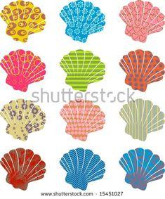 patterned shells