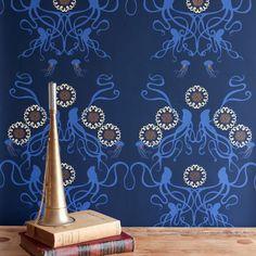 Frame a Martha Stewart wallpaper sample. $3. Instant art.