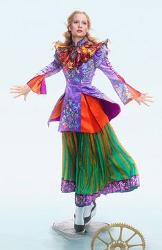 A good look at Alice's Mandarin Costume from Alice through the Looking Glass.