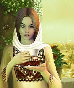 انثى تتقن صنع الصباح وتجعل من عبق قهوتها عطراً يملأ الارض عماد ابو اشتيه