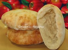 Coleen's Recipes: PITA BREAD