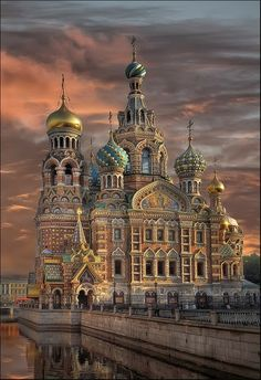 Church of the Savior on Blood, Russia-St Petersburg  Probably my fav city in the entire world!