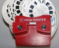 You can create your own view-master reel! So cool! I grew up being entertained by one of these, and I really miss it.