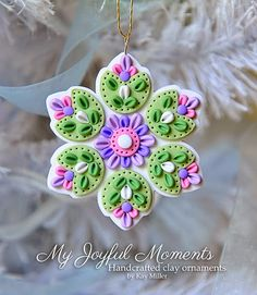My Joyful Moments: New Mini Ornaments added to My Etsy Store