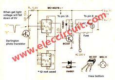 20 best light sensor switch circuits images electrical engineeringlight sensor switch circuit using jk flip flop eleccircuit