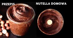 Zdrowy przepis na nutelle – porównanie Healthy Snacks, Healthy Recipes, Nutella, Good Food, Food And Drink, Cooking Recipes, Tasty, Sweets, Low Carb