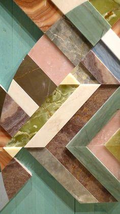 Budri Milano Earthquake Series Tile art