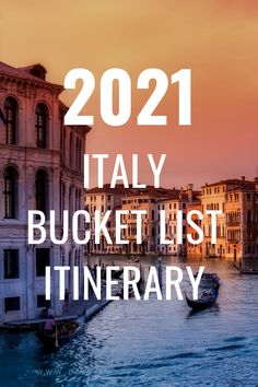 two weeks in Italy bucket list itinerary! Includes all the top Italy bucket list destinations such as Venice, Rome, Florence, and Cinque Terre. Plus all the Italy travel tips and guides you could need to have the perfect trip! | Italy Itinerary 2 weeks | Italy places to see #2021Travel #bucketlisttravel #italy #rome #venice