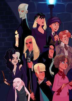 Un illustrateur talentueux a imaginé à quoi pourraient ressembler les personnages d'Harry Potter si la saga était adaptée en série animée !
