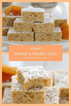 Apricot & Coconut Slice (No Bake)