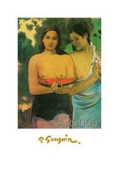 Paul Gauguin - Zwei Frauen mit Mangos