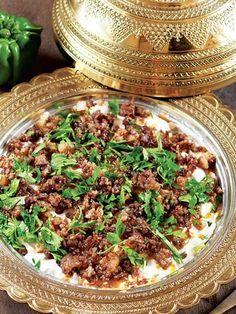 Kavurma kıymalı Ali Nazik kebabı Tarifi - Türk Mutfağı Yemekleri - Yemek Tarifleri