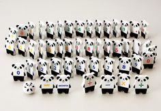 Panda dominos. WANT!