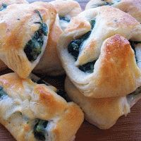 Spinach and Cream Cheese Crescent Bites. Thanks to Brook for introducing me to these savory treats!