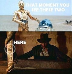 Star Wars / Indiana Jones / C-3PO / R2-D2
