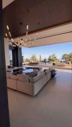 Modern Mansion Interior, Dream House Interior, Luxury Homes Dream Houses, Dream Home Design, Modern House Design, Modern Exterior House Designs, Home Interior Design, Small House Design, Home Building Design