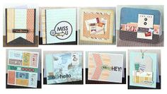 Basic Grey Card of the Month Kit September COTM