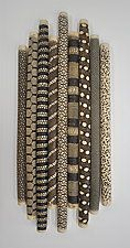 """9 Piece installation by Kelly Jean Ohl (Ceramic Wall Sculpture) (15.5"""" x 7"""")"""