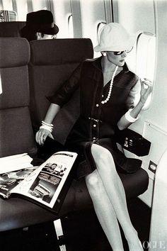 dior-elegance:    Vogue, April 1973by Chris von Wangenheim    Dior-Elegance archive
