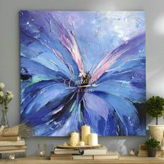Decorative oil paintings on request. - Cuadros a la Carte - - Decorative oil paintings on request. - Cuadros a la Carte Butterfly Painting, Butterfly Art, Acrylic Painting Flowers, Butterflies, Acrylic Painting Inspiration, Diy Canvas Art, Acrylic Art, Abstract Wall Art, Watercolor Art