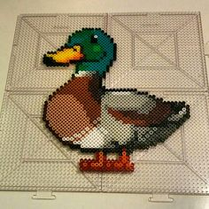 Duck perler beads by thevendelo
