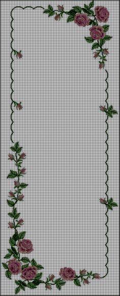 ru / Фото - asteri 2 - ergoxeiro by katharine Russian Cross Stitch, Cross Stitch Rose, Cross Stitch Borders, Cross Stitch Flowers, Cross Stitch Designs, Cross Stitching, Cross Stitch Embroidery, Cross Stitch Patterns, Floral Embroidery Patterns
