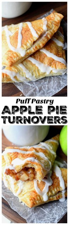 Apple pie turnovers have a buttery flaky outside and sweet cinnamon apple filling
