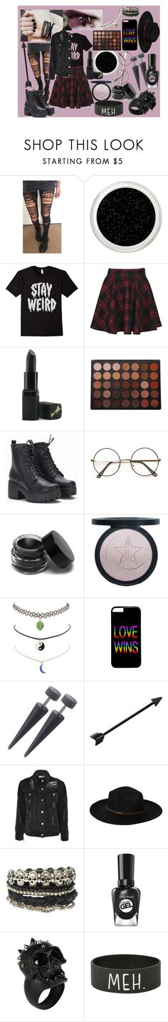 """""""💀Grunge🖤"""" by sleeping-horizon-empires ❤ liked on Polyvore featuring Barry M, Morphe, ZeroUV, Charlotte Russe, Topshop, Billabong, ASOS, Sally Hansen, Alexander McQueen and Hot Topic"""