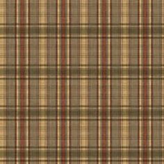 Brewster TLL130411 Bluewater Navy Sunny Plaid Wallpaper