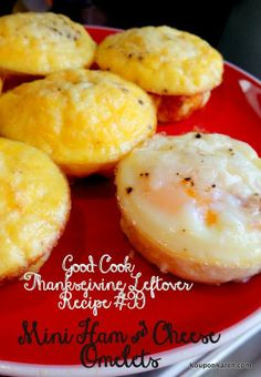 Mini Ham And Cheese Omlets Good Cook Askgoodcook