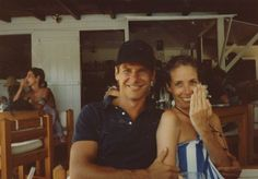 Harrison Ford looking young and handsome with his ex-wife Melissa Mathison...