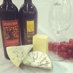 Red Zinfandel and cheese pairing guide - Bottle King's Vineyard Market