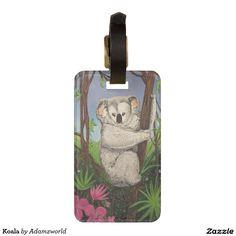 Koala Bag Tags