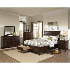 Found it at Wayfair - Justine Sleigh Customizable Bedroom Set