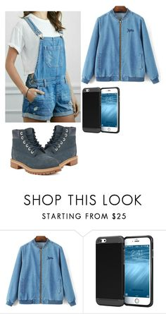 """""""Untitled #1330"""" by rachkinou ❤ liked on Polyvore featuring rooCASE and Timberland"""