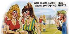 The Official Bamforth Postcard Website, Cheeky saucy seaside postcards for licensing Funny Postcards, Picture Postcards, Vintage Postcards, Funny Cartoon Pictures, Cartoon Jokes, Funny Pics, Vintage Humor, Vintage Comics, Funny Vintage